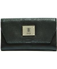 Guess Elegantní peněženka Angela Clutch černá