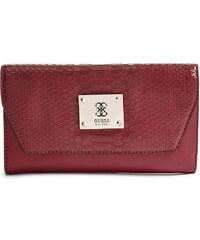 Guess Elegantní peněženka Angela Clutch červená