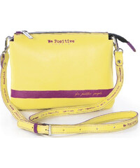 We Positive Kožená crossbody kabelka BG106 Sunflower