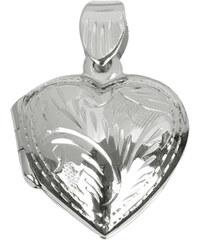 Troli Stříbrný medailon Srdce 441 154 00079