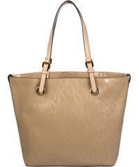 Michael Kors Elegantní kožená business kabelka Grab Bag Leather Tote Light Brown