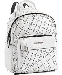 Calvin Klein Elegantní batoh Hailey City Backpack bílá multi