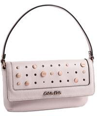 Calvin Klein Elegantní kabelka Sophia Studded Flap Wristlet růžová
