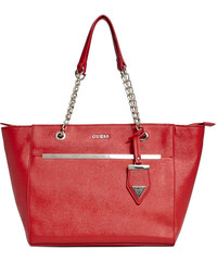 Guess Elegantní business kabelka Alessandra Tote Red