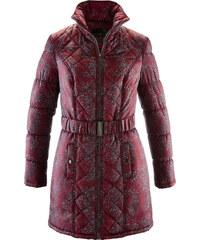 bpc selection Manteau matelassé imprimé rouge manches longues femme - bonprix