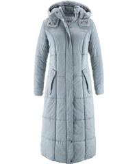 bpc bonprix collection Manteau long légèrement rembourré argent manches longues femme - bonprix