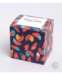 Happy Socks dárková krabička na ponožky s lístky