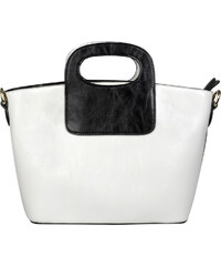 Lecharme Elegantní bílá kabelka 10008013-2