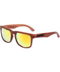 Meatfly Sluneční brýle Sunrise I - Brown wood