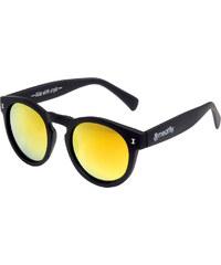 Meatfly Sluneční brýle Lunaris B - Black/Yellow