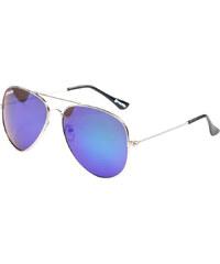 Meatfly Sluneční brýle Tomcat B - Silver / Green