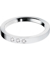 Morellato Ocelový prsten s diamanty Love Rings S8530