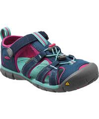 KEEN Dětské sandály Seacamp II CNX Poseidon/Very Berry