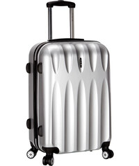 Azure Cestovní kufr 97L ICE T-1063/3-70 PC stříbrná
