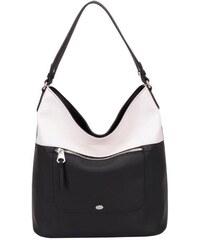 David Jones Elegantní černobílá kabelka Black/White 5069-3-1