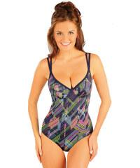 Litex Jednodílné plavky s kosticemi 88339