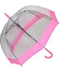 Blooming Brollies Dámský průhledný holový deštník Clear Domes EDSCDP