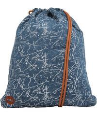 Mi-Pac Vak Premium Kit Bag Denim Squiggle 740554-005 Mid Blue/White