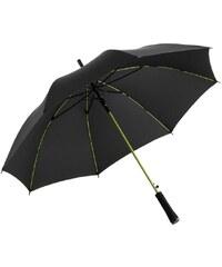 Fare Dámský holový vystřelovací deštník Colorline black-limet 1083