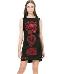 Desigual Dámské šaty Scarlett Negro 67V28J3 2000