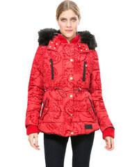 Desigual Dámský kabát Marlene Borgoňa 67E29J2 3007