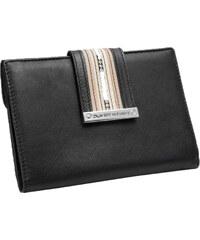 Oliver Weber Dámská elegantní peněženka Line leather 72009 - Black