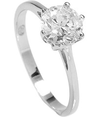 Brilio Silver Stříbrný zásnubní prsten 5119085