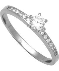 Brilio Silver Stříbrný zásnubní prsten 31G3042