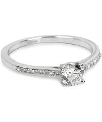 Brilio Silver Stříbrný zásnubní prsten 31G3050