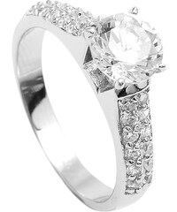 Brilio Silver Stříbrný zásnubní prsten 5170675