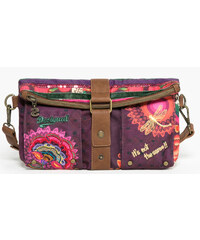 Desigual Crossbody kabelka Clutch Alika Purple Wine 67X50X6 3078