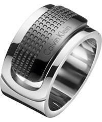 Calvin Klein Pánský ocelový prsten Confidence KJ4QBR2001