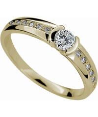 Danfil Luxusní zásnubní prsten DF2106z