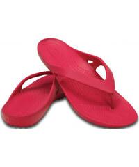 Crocs Dámské žabky Women`s Kadee II Flip Raspberry 202492-652