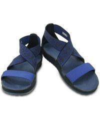 Crocs Dámské sandály Crocs Anna Ankle Strap Sandal Navy/Bijou Blue 203001-42t