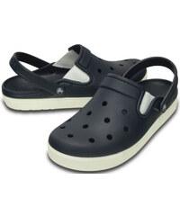 Crocs Modré pantofle Citilane Clog Navy/White 201831-462
