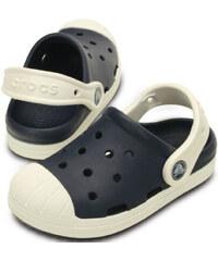 Crocs Dětské pantofle Bumber Toe Clog K Navy/Oyster 202282-43w