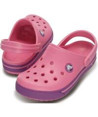 Crocs Dětské pantofle Crocband II.5 Clog Kids Pink Lemonade/Dahlia 12837-68i