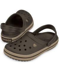 Crocs Pantofle Crocband Espresso/Khaki 11016-22y