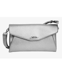 Doca Elegantní stříbrná kabelka 11435