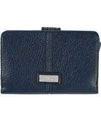 s.Oliver Dámská modrá peněženka na zip