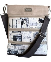 Dara bags Crossbody kabelka Dariana Middle I love Paris no.1215