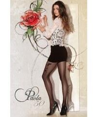 Gatta Černé punčochové kalhoty Paola 50 nero