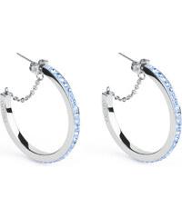 S`Agapõ Náušnice kruhy Crystal Ring SCR21