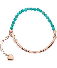 Hot Diamonds Romantický náramek Festival Turquoise DL308