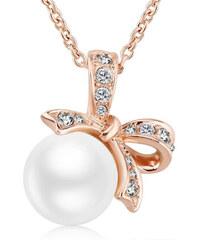 Vicca® Pozlacený náhrdelník s mašlí Caye Gold OI_Z150212-2