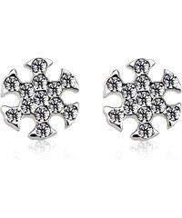 Vicca® Náušnice ve tvaru sněhové vločky Snowflake OI_440815