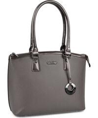 Le-Sands Elegantní šedá business kabelka 3180