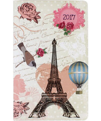 Albi Kapesní týdenní diář s Eiffelovou věží 2017