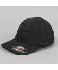 Yupoong Flexfit Garment Washed Cotton Dad Hat černá